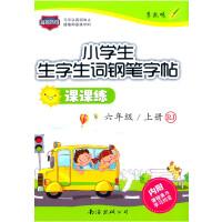 小学生生字生词钢笔字帖课课练  RJ 六年级上册(人教版)