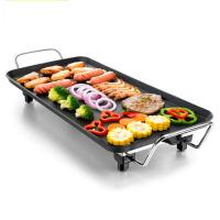 家用时尚休闲韩式铁板烧烤肉机锅 家用电烤炉电烧烤炉电烤盘