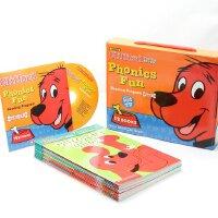 英文原版 大红狗语音趣味套装#3(含CD) Cliffords Phonics Fun Box Set 自然拼读法