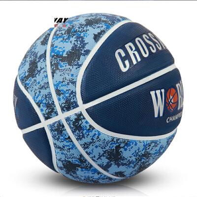 篮球室外水泥地7号标准橡胶运动比赛训练用蓝球