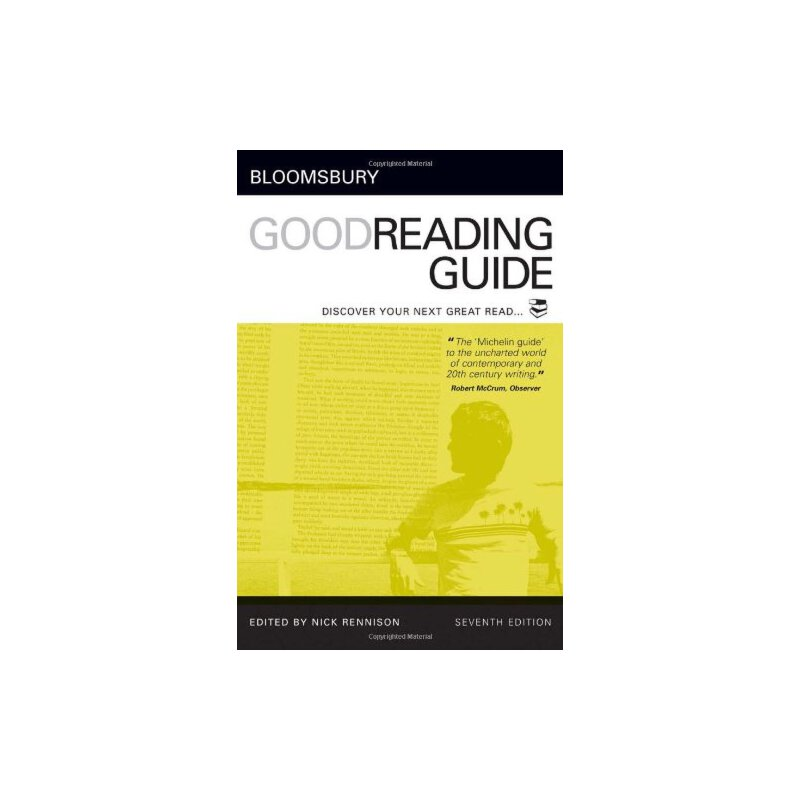 Bloomsbury Good Reading Guide: Discover your next great read [ISBN: 978-0713675870] 美国发货无法退货,约五到八周到货