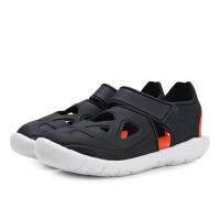 adidas阿迪达斯2019中性小童魔术贴休闲游泳凉鞋F34800