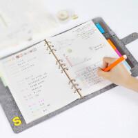 活页本b5笔记本文具 小清新学生手账复古日记事本加厚商务手帐本