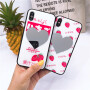 免邮 iphone苹果手机壳 新款镜子玻璃壳保护套 iPhone X 7 8 plus iphone6 6S plus 保护壳