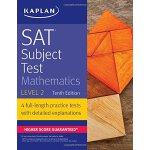 【中商原版】卡普兰SAT数学二级 2017版 英文原版 SAT Subject Test Mathematics Le
