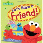 英文原版 芝麻街:我们交朋友吧 精装 Let's Make a Friend! (Sesame Street)
