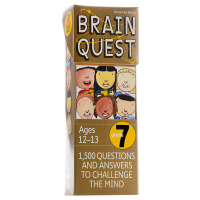 【中商原版】英文原版Brain Quest Grade 7, Revised 4th Editio
