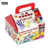 贝碧欧Pebeo手指画绘画工具套装 儿童礼物 画画益智4色633807C