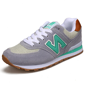 NBanao新百伦女鞋新款跑步鞋透气网面轻便学生跑鞋N字女生运动鞋