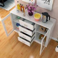亿家达 餐边柜厨房橱柜 简易中式碗柜客厅储物柜茶水柜厨房收纳柜