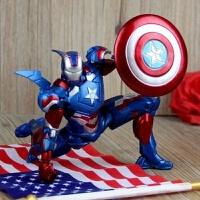 漫威钢铁侠3模型摆件 珍藏限量版钢铁侠玩具MK42可动人偶公仔 【活动!!当天发货】