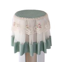 圆柜机罩圆形立式柜机空调防尘罩防尘盖布盖巾田园开机不取 圆柱空调通用