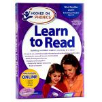 自然拼读 迷上语音 幼儿园4级 英文原版 Hooked on PhonicsLearn to Read Kinderg