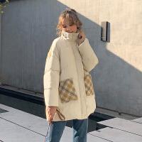 MG小象小个子面包服女装冬装2019新款潮加厚外套韩版宽松棉服棉袄
