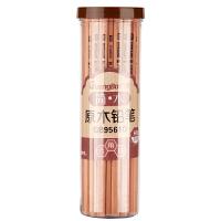 广博(GuangBo)30支桶装原木HB铅笔素描绘图学生铅笔QB9561D当当自营