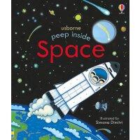 Peep Inside Space 偷偷看里面低幼翻翻书:太空