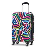 拉杆箱万向轮旅行箱卡通TSA密码登机时尚行李箱大