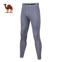 骆驼男款健身裤 跑步健身瑜伽男针织长裤