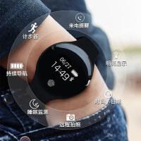 智能运动手环手表男女安卓苹果通用心率血压儿童电话多功能防水圆