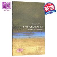 【中商原版】十字军东征(牛津通识读本) 英文原版 The Crusades: A Very Short Introdu