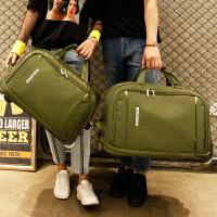 旅行包女手提拉杆包旅游大容量登机包折叠防水待产包行李包男