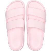 2019新款夏天黑色简约时尚潮流白色凉拖鞋家居家用浴室内防滑防水
