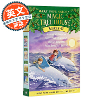 神奇树屋 9-12盒装 英文原版 Magic Tree House Volumes 9-12 Boxed Set 玛丽