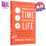 【中商原版】掌控时间掌控生活 英文原版 Master Your Time Master Your Life Brian