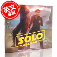 现货 星球大战 游侠索罗 电影艺术画册设定集 英文原版 The Art of Solo: A Star Wars St