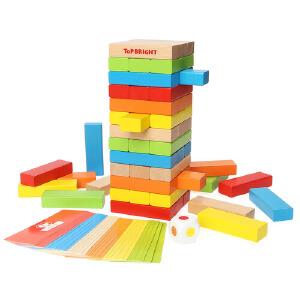 [当当自营]TOPBRIGHT特宝儿 叠叠乐积木儿童益智玩具8153