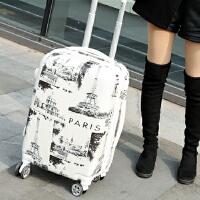旅行箱万向轮小清新20寸行李箱女韩版学生拉杆箱24寸男个性密码箱 26寸 收藏有礼+终身保修