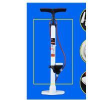 山地车自行车家用带气压表打气筒电动车摩托车美法高压打气筒