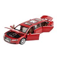 1:32合金车奥迪A8L加长车模声光回力儿童玩具车豪华轿车汽车模型