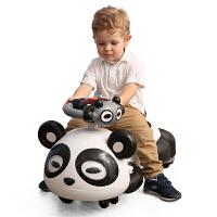 A+B滑行车熊猫摇摆车带音乐 宝宝滑行溜溜车 新款儿童扭扭车