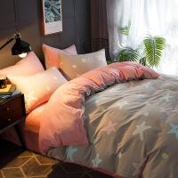 【官方旗舰店】冬季珊瑚绒四件套床上三件套法兰绒床单被套保暖加厚学生宿舍裸睡