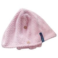 20191130125750846媲美美国干发帽出口日本女长发速干吸水擦头发毛巾神器浴帽 +速干浴巾 送方巾
