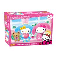 HelloKitty凯蒂猫拼图 凯蒂猫温馨之家盒装拼图200片儿童拼图益智玩具KP04-200-61圣诞礼品