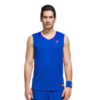 特步篮球比赛套装 男短裤背心983129680005