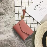 ?女士手拿钱包女长款2018新款韩版潮个性小清新折叠拉链多功能皮夹?