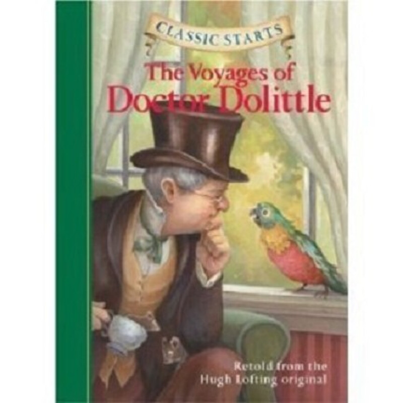【中商原版】杜立德医生航海记 英文原版 The Voyages of Doctor Dolittle Classic Starts