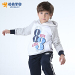 英格里奥春秋男童中大童童装新款儿童休闲运动卫衣绒衫上衣838T