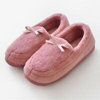 秋冬男女情侣包跟居家棉拖鞋地板拖鞋产妇保暖软底月子鞋防滑无味