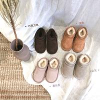 2018初冬新款儿童雪地靴韩版男女童加绒短靴保暖棉靴棉鞋