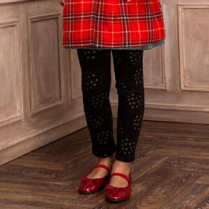 【2件5折到手价:79.5元】水孩儿souhait新款女童时尚百搭印花打底裤AKUDH402