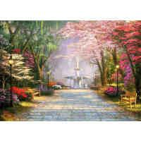 拼图1000成人木质风景拼图500世界名画 卡通托马斯油画 公园