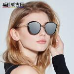 威古氏 新款女款防紫外线太阳镜大框修脸偏光墨镜男女士眼镜