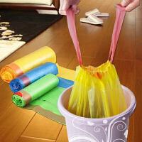 10卷装垃圾袋家用手提式加厚抽绳一次性批发卫生间自动收口厨房塑料袋