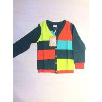【��^59元3件】加菲�春秋�b�和�男童拼色�L袖T恤GK47