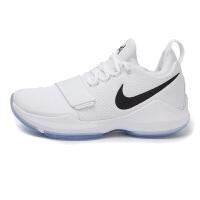 Nike耐克 男鞋 2017新款 男子PG 1 EP实战耐磨篮球鞋 878628-100