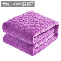 君别法兰绒毯子毛毯加厚珊瑚绒床单冬季保暖网红床毯双人单人薄